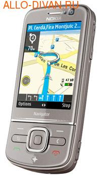 Nokia 6710 Navigator, Titanium