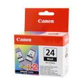 Canon BCI-24, black двойная упаковка