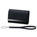 Sony LCS-CSVA, кожаный чехол для фотокамер, чёрный