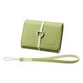 Sony LCS-TWB, кожаный чехол для фотокамер, зелёный