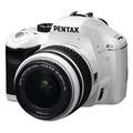 Pentax K-x Kit 18-55, White