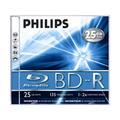 Philips BD-R Blu-Ray, 25Gb, 2x, 1 шт, jewel (9003)