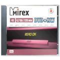 Mirex DVD+RW, 4.7Gb, 4x, 10шт slim case