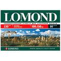 Lomond 230/10ч15см/50л, карточка матовая односторонняя, 0102034