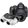 Nikon D3000 Kit 18-55 VR комплект