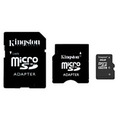 Kingston microSD Card 2GB+2 адаптера